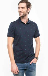 Хлопковая футболка поло с короткими рукавами Barbour