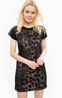 Короткое кружевное платье на молнии Juicy Couture
