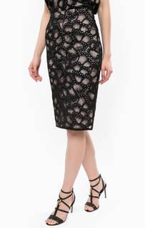 Кружевная юбка средней длины Juicy Couture