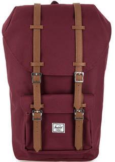 Бордовый текстильный рюкзак на шнуре Herschel