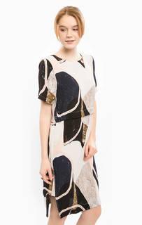 Платье свободного кроя с застежкой на спине Ichi