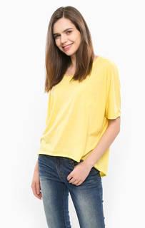 Желтая футболка оверсайз Silvian Heach