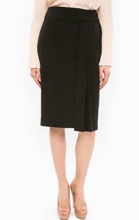 Черная юбка-карандаш с разрезом Marciano Guess