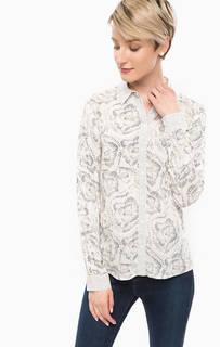 Рубашка из вискозы с цветочным принтом More & More