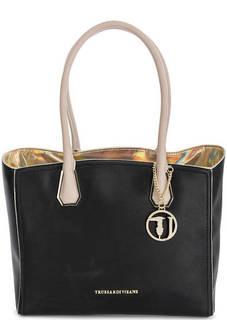 Вместительная сумка с длинными ручками Trussardi Jeans