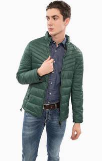 Легкая куртка зеленого цвета Liu Jo Uomo