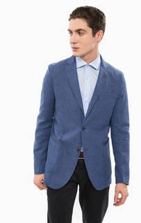 Синий пиджак с накладными карманами Liu Jo Uomo