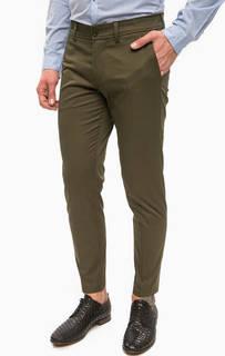 Классические брюки цвета хаки Drykorn