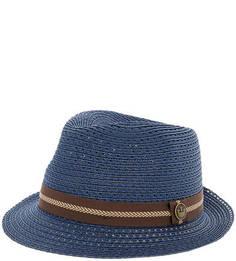 Синяя плетеная шляпа Goorin Bros.
