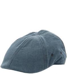 Кепка из хлопка синего цвета Goorin Bros.