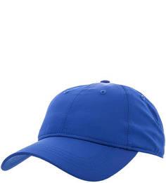 Синяя бейсболка с принтом Lacoste