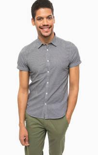 Приталенная рубашка с короткими рукавами Scotch&Soda