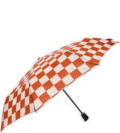 Складной зонт в клетку Doppler