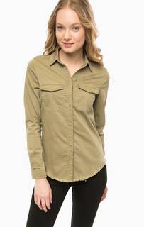 Рубашка из денима на кнопках Rich&Royal