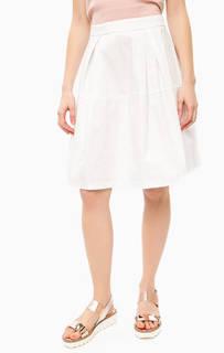 Пышная белая юбка Think Chic