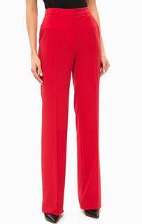 Широкие брюки красного цвета Marciano Guess