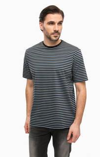 Хлопковая футболка в полоску Antony Morato