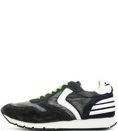 Серые кроссовки с вкладной стелькой Voile Blanche