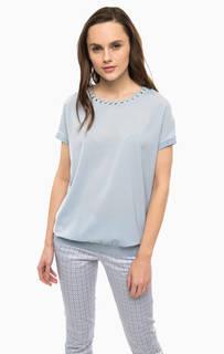 Синяя блуза с металлической отделкой River Woods