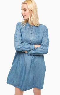 Синее платье свободного кроя Paul & Joe Sister