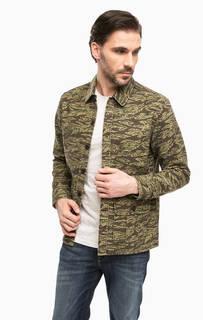 Легкая куртка в стиле милитари Carhartt WIP