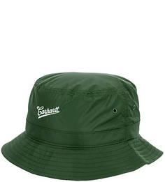 Зеленая шляпа-панама с вышивкой Carhartt WIP