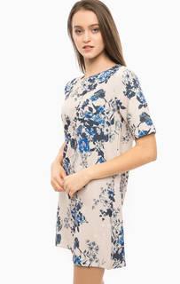 Короткое платье с цветочным принтом Only