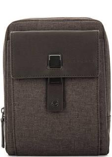 Маленькая текстильная сумка через плечо Piquadro