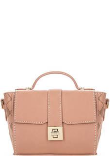 Маленькая сумка кораллового цвета Trussardi Jeans