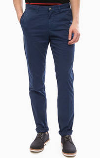 Синие брюки-чиносы Trussardi Jeans