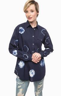 Хлопковая блуза с длинными рукавами Gas