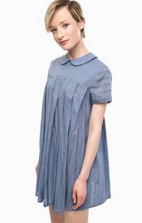 Короткое платье расклешенного силуэта Think Chic