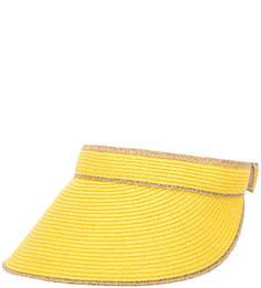 Желтый козырек на липучке R.Mountain