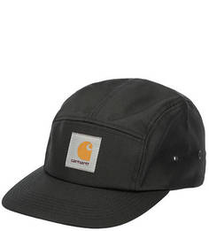 Черная бейсболка с логотипом бренда Carhartt WIP
