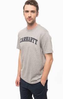 Хлопковая футболка с принтом Carhartt WIP