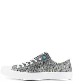 Текстильные кроссовки с перфорацией Converse