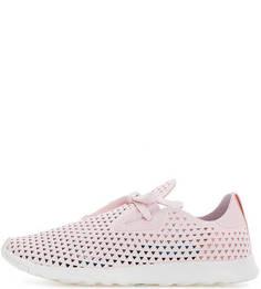 Розовые кроссовки с перфорацией Native