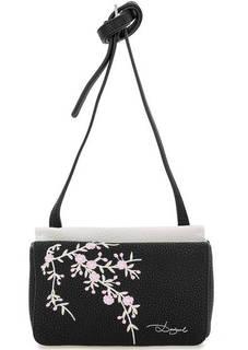 Маленькая сумка с цветочной вышивкой Desigual