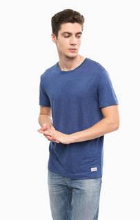 Льняная футболка с круглым вырезом Gant