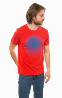 Красная хлопковая футболка S.Oliver