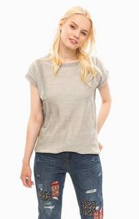 Серая футболка из хлопка S.Oliver