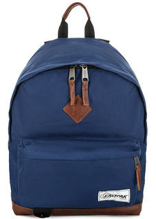 Текстильный рюкзак с кожаными вставками Eastpak