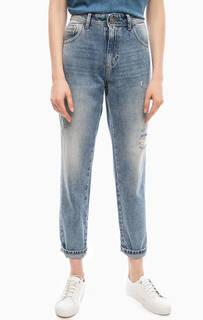 Рваные джинсы со средней посадкой Fornarina