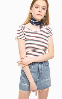 Обтягивающая футболка в полоску Levis®