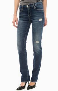 Рваные джинсы прямого кроя Calvin Klein Jeans