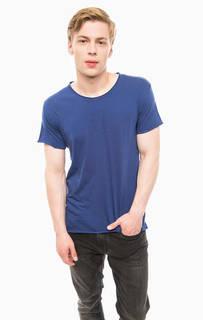 Однотонная хлопковая футболка Calvin Klein Jeans