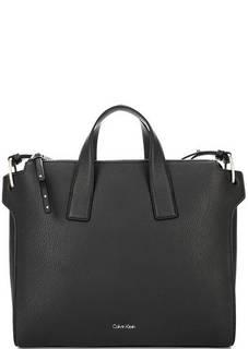 Черная сумка с одним отделом на молнии Calvin Klein Jeans