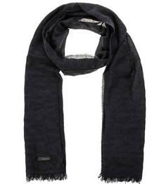 Легкий шарф синего цвета Calvin Klein Jeans