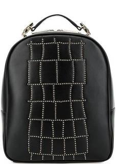 Черный рюкзак с тонкими лямками Cavalli Class