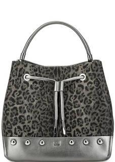 Сумка-торба с животным принтом Cavalli Class